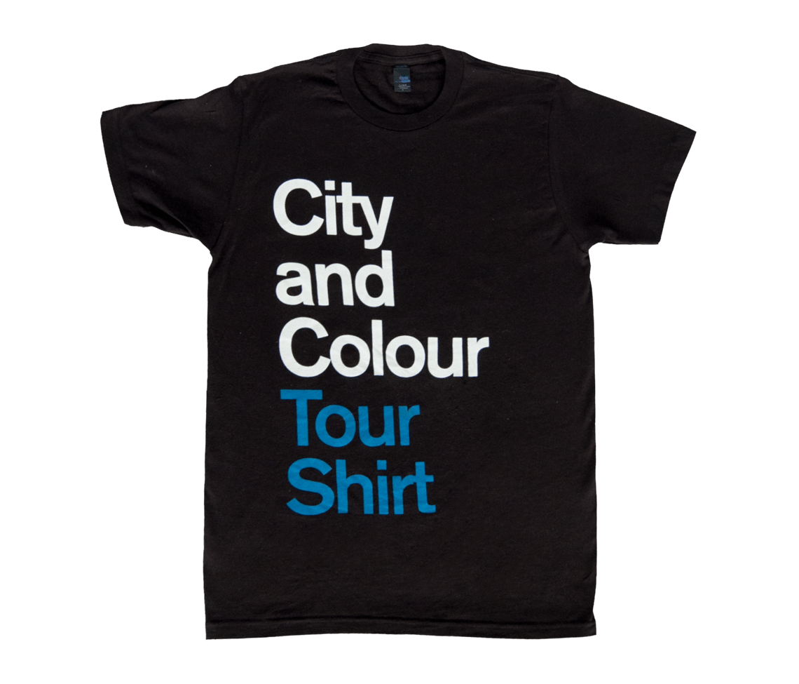 2017 us tour t shirt black apparel city and colour online store. Black Bedroom Furniture Sets. Home Design Ideas
