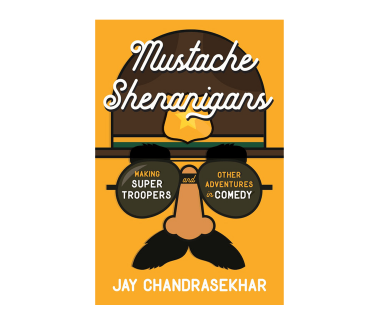 Mustache Shenanigans Book (Signed)