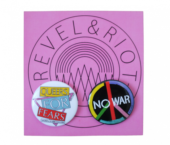LGBTQ Buttons (Pink Pack)
