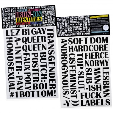 Iron-On Identities LGBTQIA+ Edition