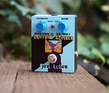 Jonathan Wilson's Standard Edition Blue Canyon Climber (Companion Fuzz w/ Boost)