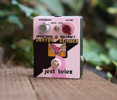 Jonathan Wilson's Limited Edition Pink Canyon Climber (Companion Fuzz w/ Boost)
