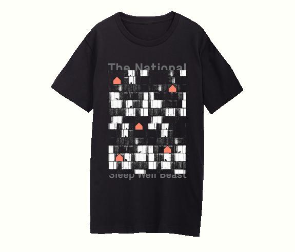 2bdf9295104 North American Tour 2017 2018 T-Shirt - Black - T-Shirts - Apparel ...
