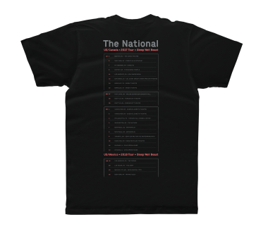 North American Tour 2017/2018 T-Shirt