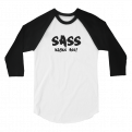 Sass Kicks Ass! Raglan