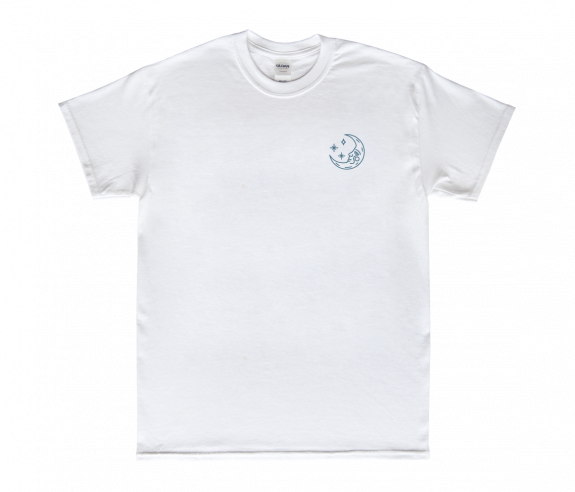 Moon Valentine S Day T Shirt White Featured City And Colour