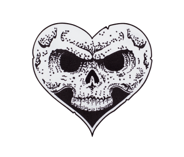 Heart Skull Patch