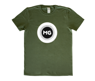 MG Target T-Shirt Military Green