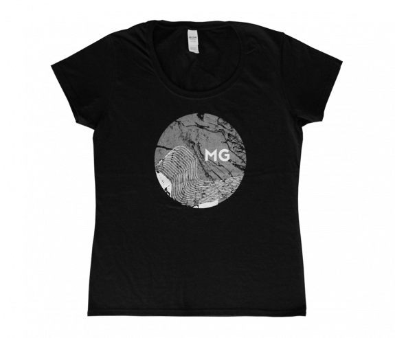 Women's Abstract Moon T-Shirt