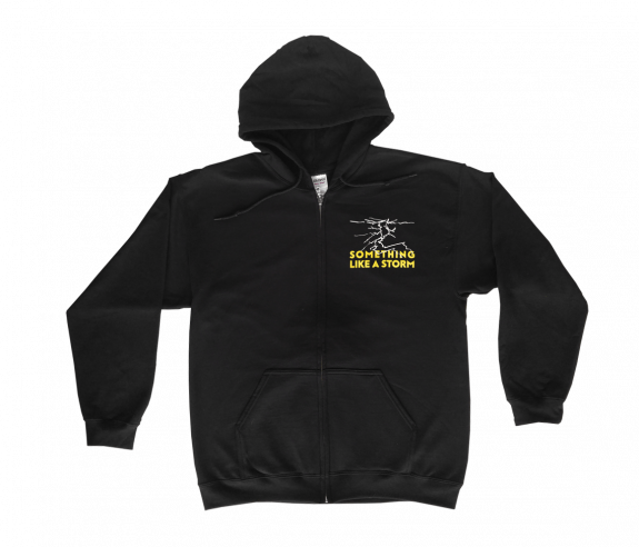 Something Like A Storm Zip Hoodie
