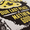 Our Lady Peace & Matthew Good 2018 Tour Poster