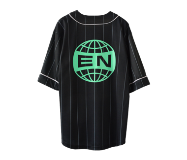 Everything Now Pinstripe Baseball Jersey