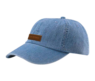 Denim Logo Hat