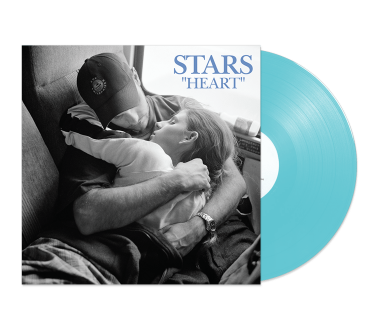"Heart 12"" Vinyl (Translucent Light Blue)"
