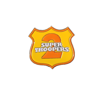 Super Troopers 2 Lapel Pin