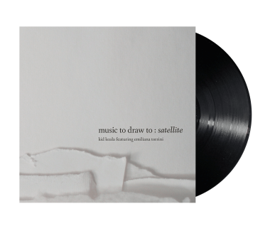 "Music To Draw To: Satellite 2x12"" Vinyl"