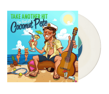 "Take Another Hit: The Best Of Coconut Pete 7"" Vinyl (Clear with Smoke)"