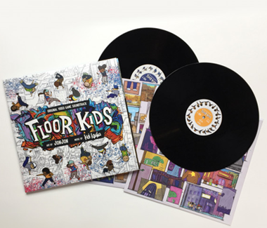 "Floor Kids: Original Video Game Soundtrack 2x12"" Vinyl"