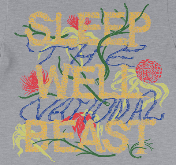 Sleep Well Drawing T-Shirt