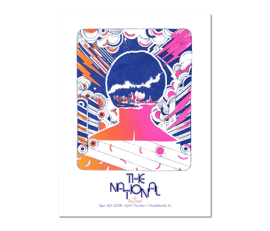Charlottesville Show Poster April 30, 2018(SOLD OUT)