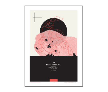 Primavera Sound Barcelona Poster  June 1, 2108Cherry Tree Variant(SOLD OUT)