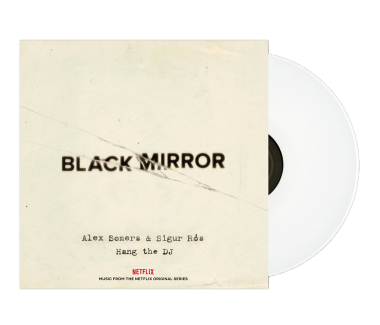 "Black Mirror Hang the DJ 12"" Vinyl (White)"