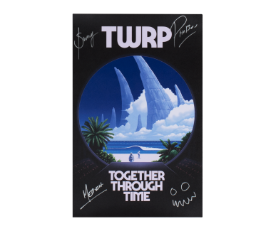 Together Through Time Poster (SIGNED)