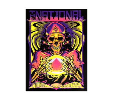Milwaukee Riverside Theater PosterJuly 30, 2018Cherry Tree Variant