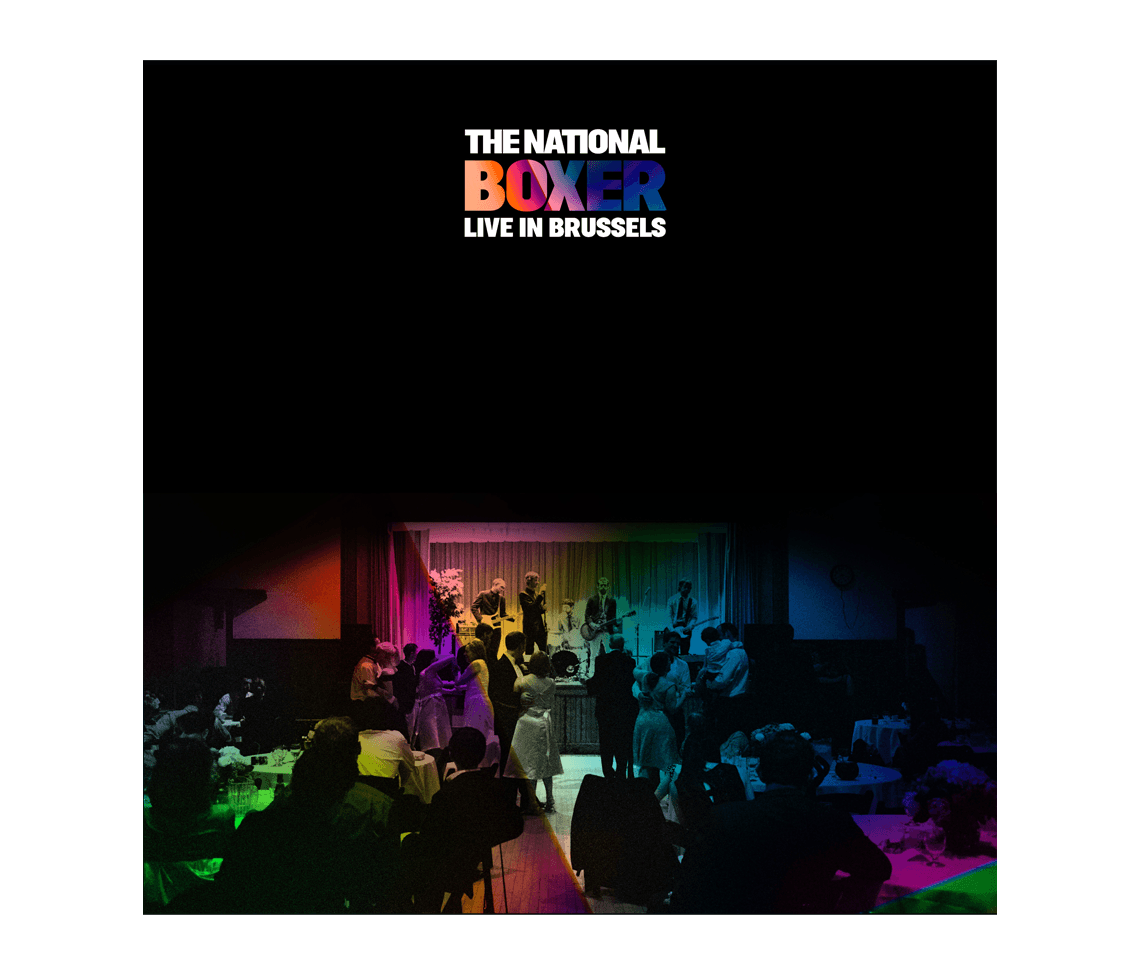 Boxer Live In Brussels Cd Music The National