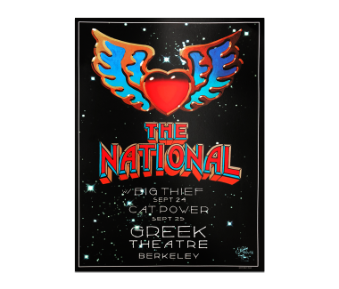 Berkeley Greek Theatre PosterSeptember 24 & 25, 2018