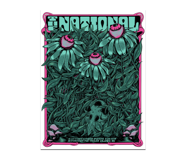 Columbia Merriweather Post Pavilion PosterSeptember 28, 2018Cherry Tree Variant