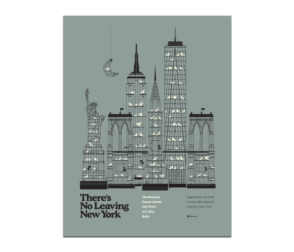 New York City Forest Hills PosterSeptember 30, 2018(SOLD OUT)
