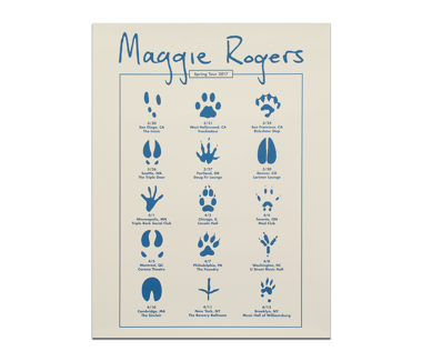 posters maggie rogers online store