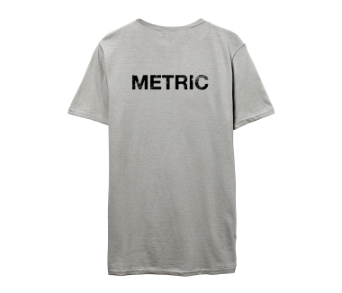 METRIC Band ShotLimited Edition Tee