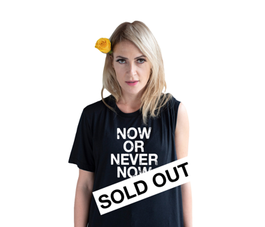 Now or Never Now 24 Hour Limited Edition Tee