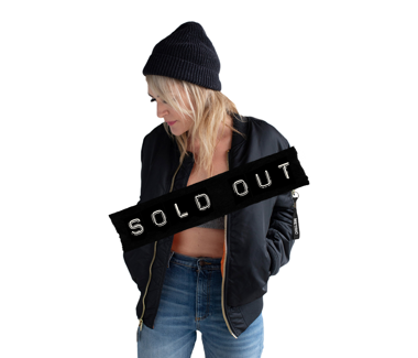 Dark Saturday - Black on BlackLimited Edition Bomber Jacket