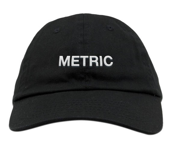 Metric Dad Hat Limited Edition