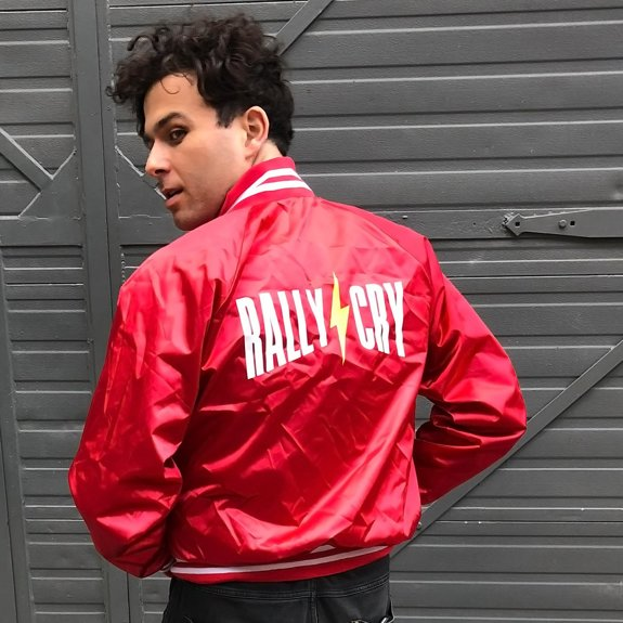 Rally Cry Varsity Jacket