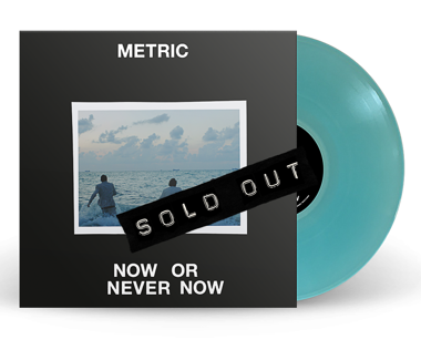 "Now or Never Now / Anticipate Limited Edition 10"" Vinyl"
