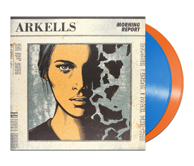 "Morning Report Deluxe Edition 2 x 12"" Vinyl (Blue/Orange)"