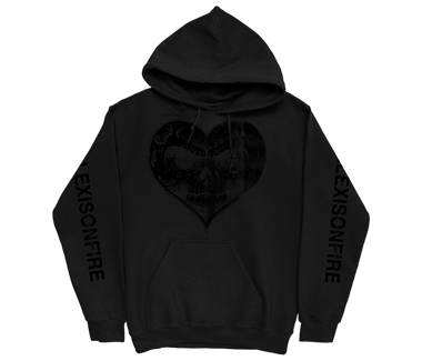 Heart Skull Pullover Hoodie  (SOLD OUT)