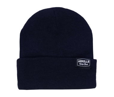 Navy Flip Touring Band Beanie