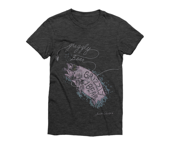 Women's Fish Distressed T-Shirt