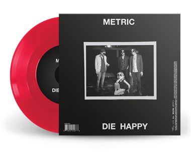 "Love You Back / Die Happy Limited Edition 7"" Vinyl"