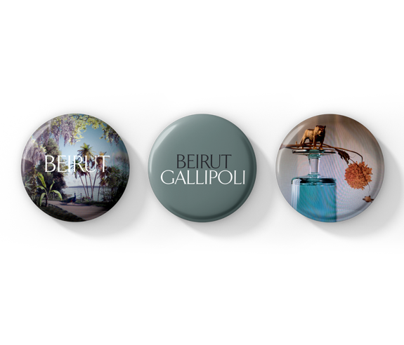 Gallipoli Button Pack