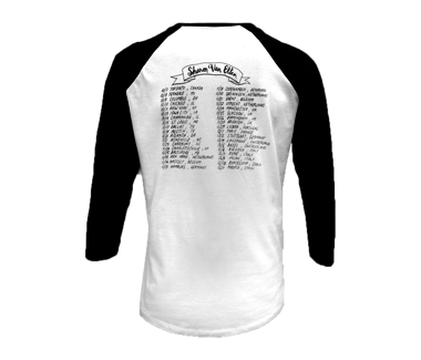 2014 Fall Tour Baseball Jersey