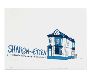 Sharon Van Etten Minneapolis '14 Poster