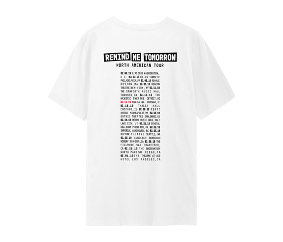 RMT North American Tour 2019 T-Shirt