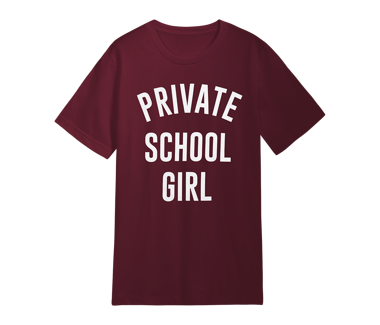 Private School Girl T-Shirt