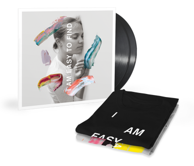 I Am Easy To Find  Vinyl + T-Shirt Bundle